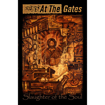 Textilplakat At The Gates - Slaughter of the Soul