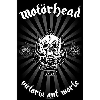 Textilplakat Motorhead - Victoria Aut Morte 1975-2015