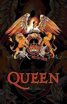 Textilplakat Queen - Crest