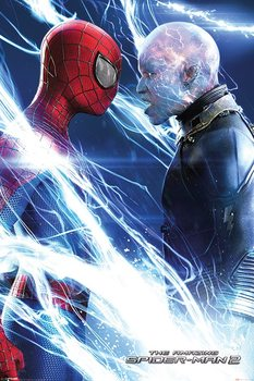 The Amazing Spiderman 2 - Spiderman and Electro - плакат (poster)