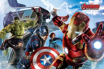 The Avengers: Age Of Ultron - Re-Assemble - плакат (poster)