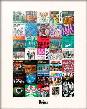 The Beatles - Singles Festmény reprodukció