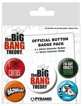 The Big Bang Theory - Logo Insignă