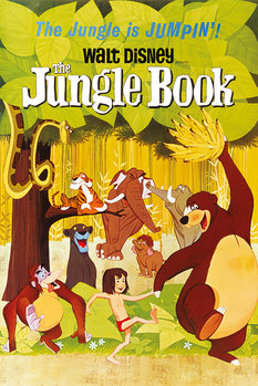 The Jungle Book - Jumpin - плакат (poster)