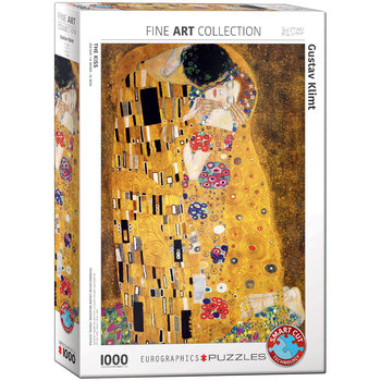 Puzzel The Kiss by Gustav Klimt