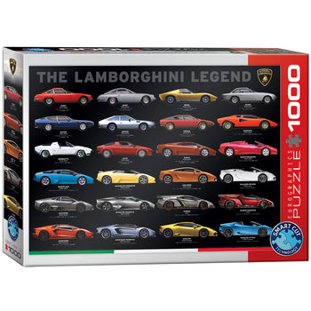 Puzzle The Lamborghini Legend