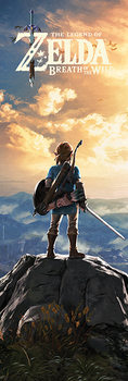 Αφίσα πόρτας  The Legend Of Zelda: Breath Of The Wild - Sunset