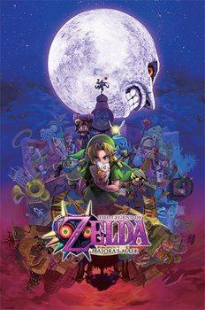 The Legend Of Zelda - Majora's Mask - плакат (poster)