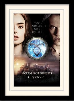 THE MORTAL INSTRUMENTS CITY OF BONES – two worlds  Tablou Înrămat cu Geam