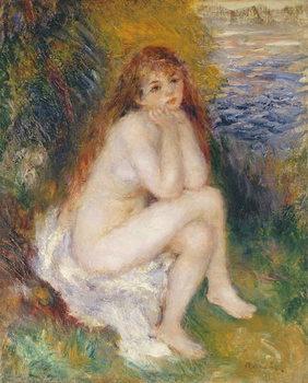 The Naiad, 1876 Festmény reprodukció