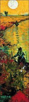 Εκτύπωση έργου τέχνης The Red Vineyards near Arles, 1888