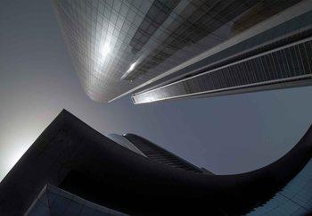 Ταπετσαρία τοιχογραφία  The Rhythm Of Glass And Concrete