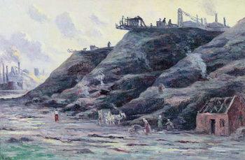 The Slag Heap, 1896 Festmény reprodukció