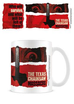 Mugg The Texas Chainsaw Massacre - Motorsågsmassakern - Newsprint