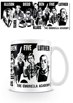 Mugg The Umbrella Academy - Sketch