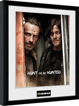 Πλαισιωμένη αφίσα The Walking Dead - Rick and Daryl
