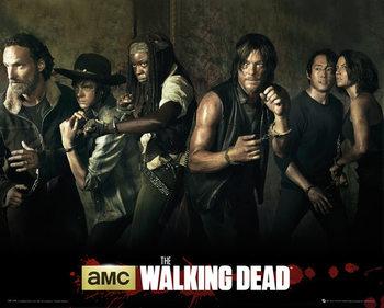 The Walking Dead - Season 5 - плакат (poster)