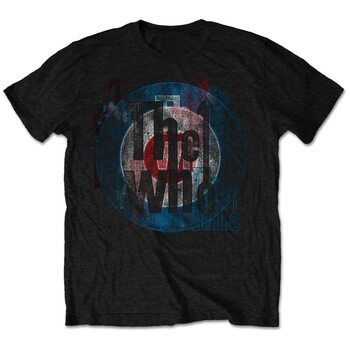 T-shirt The Who - Target Texture
