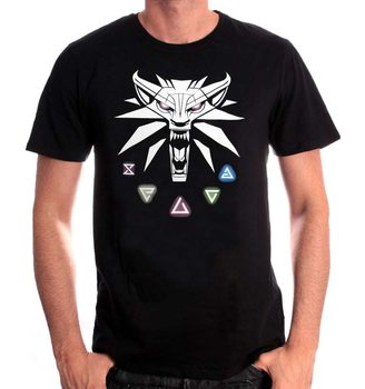 Tricou The Witcher - Signs Of The Witcher