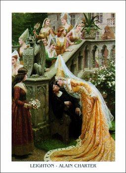 F.Leighton - Alin Charter Reprodukcija umjetnosti