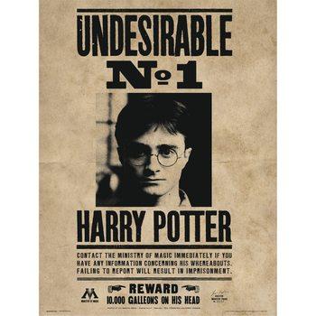 Harry Potter - Undesirable No1 Reprodukcija umjetnosti