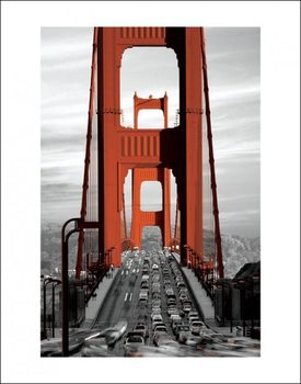 San Francisco - Golden Gate Bridge Reprodukcija umjetnosti