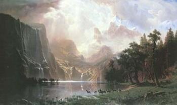 Sierra Nevada In California Reprodukcija umjetnosti