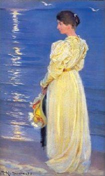 Marie, the wife of the artist Reprodukcija