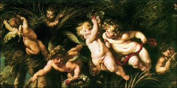 Peter Paul Rubens - SS Domitilla, Nereo e Achilleo Reprodukcija