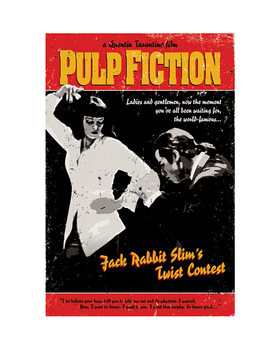 Pulp Fiction - Twist Contest Reprodukcija