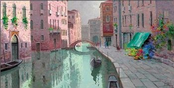 Rio di Santa Fosca, Venice Reprodukcija