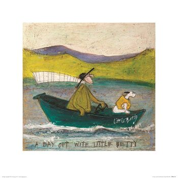 Sam Toft - A Day Out With Little Betty Reprodukcija