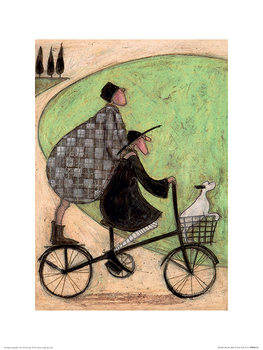 Sam Toft - Double Decker Bike Reprodukcija