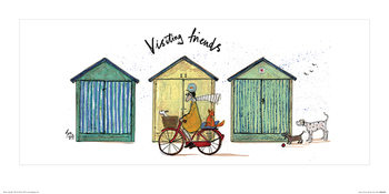 Sam Toft - Visiting Friends Reprodukcija