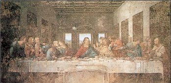 The Last Supper Reprodukcija