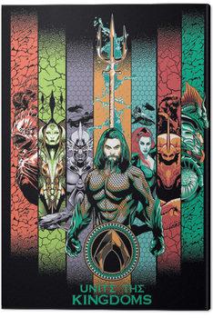 Aquaman - Unite the Kingdoms Tableau sur Toile