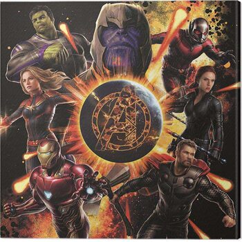 Tableau sur Toile Avengers: Endgame - Explosion