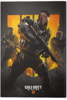 Tableau sur Toile Call of Duty: Black Ops 4 - Trio