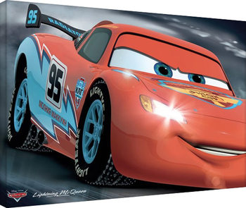 Cars - McQueen 95 Tableau sur Toile
