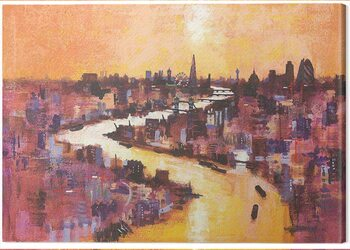 Tableau sur Toile Colin Ruffell - From Canary Wharf