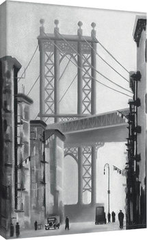 David Cowden - Manhattan Morning Tableau sur Toile