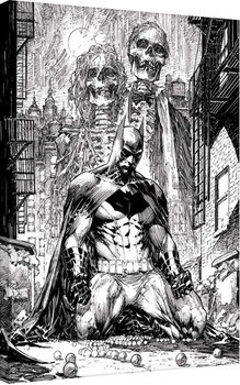 Tableau sur Toile DC Comics - Batman Haunted