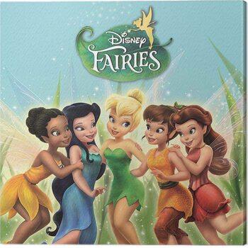 Tableau sur Toile Disney Faires