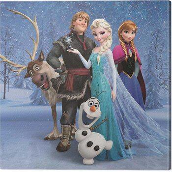 Tableau sur Toile Frozen - Group