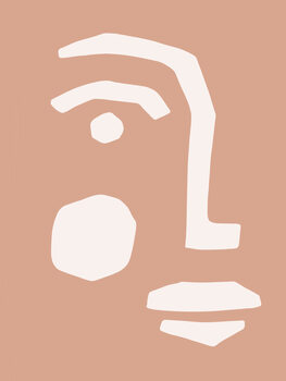 Tableau sur Toile Graphic Portrait