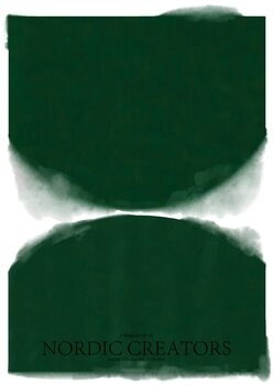 Tableau sur Toile Green Abstract