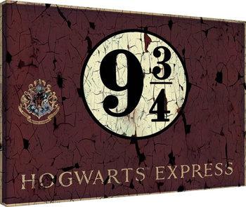 Tableau sur Toile Harry Potter - Hogwart's Express
