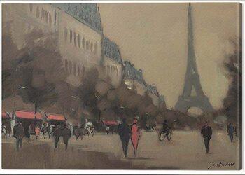 Tableau sur Toile Jon Barker - Time Out in Paris