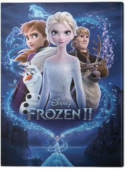 Tableau sur Toile La Reine des neiges 2 - Magic