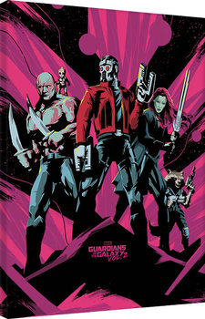 Les Gardiens de la Galaxie Vol. 2 - Unite Tableau sur Toile